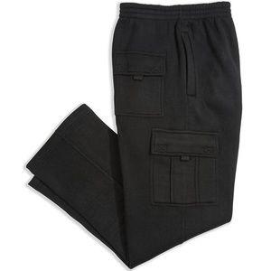 Renegade Men's Cargo Pocket Fleece Sweatpants